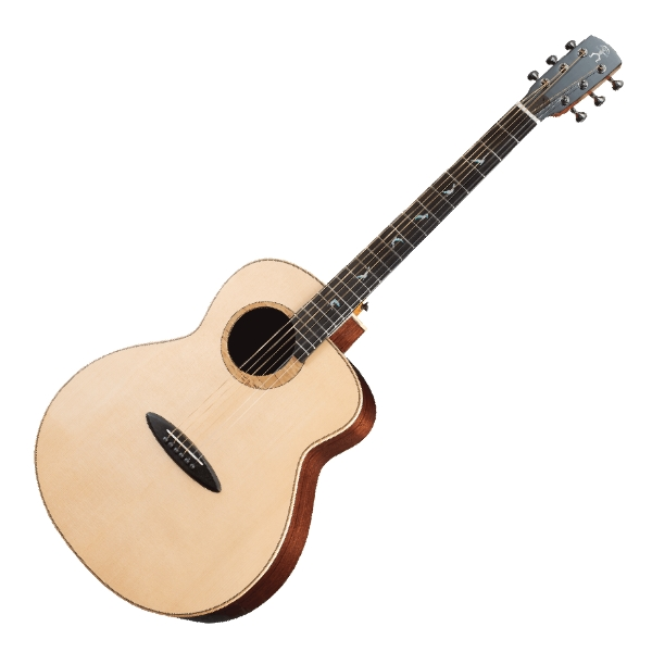 aNueNue LB200 雲杉木面板+玫瑰木側背板 41吋 全單板 民謠吉他 / 鳥吉他 / 木吉他 附小小收納袋、PICK、貼紙、胸章、琴布、原廠琴盒