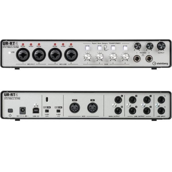 Steinberg Ur-rt4 錄音介面 6進4出 24-bit/192kHz Yamaha 原廠公司貨 一年保固【ur rt4】 Steinberg UR-RT4 錄音介面 6進4出 24-bit/192kHz Yamaha 原廠公司貨 一年保固【UR RT4】