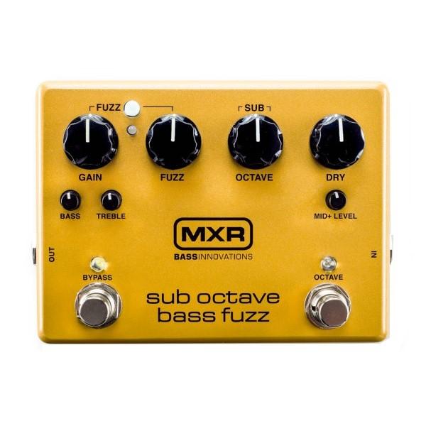 Dunlop M287 MXR 貝斯八度音效果器【Dunlop Sub Octave Bass Fuzz Pedal】