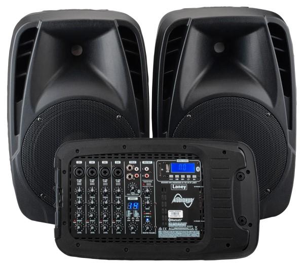 Laney 英國 AH2500D 10吋PA喇叭 藍芽音樂撥放 附贈2支麥克風/麥克風線/喇叭線【AH-2500D】