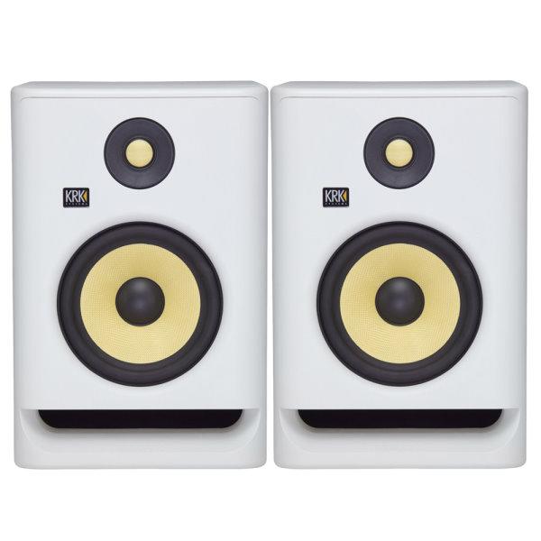 KRK Rokit RP7G4 主動式監聽喇叭 7吋錄音室專用 白色/一對二顆 台灣公司貨 krk,KRK RP7G4,RP7G4,監聽喇叭,小新樂器館,樂器館,小新吉他館,錄音室,krk 監聽喇叭,5吋喇叭