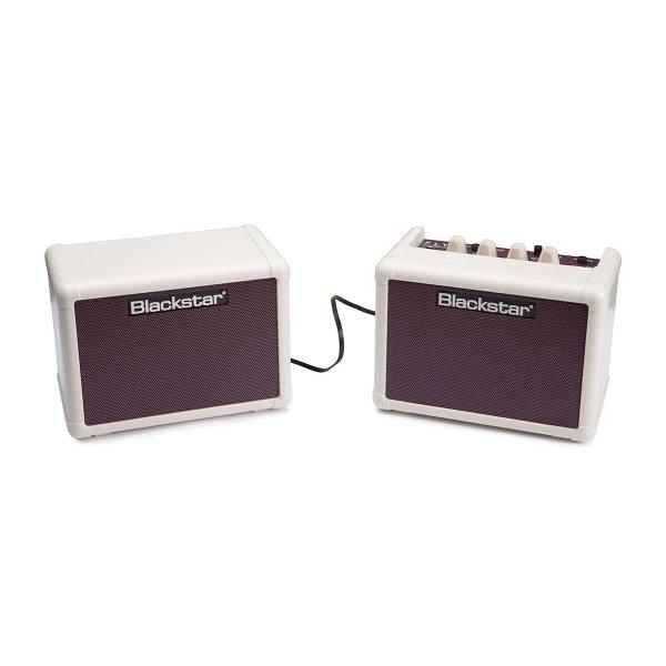 Blackstar Fly3 Vintage Stereo Pack 復古白 黑星 2顆音箱套裝組(2顆音箱+變壓器)立體聲/吉他音箱(可當電腦喇叭/電池可攜帶)