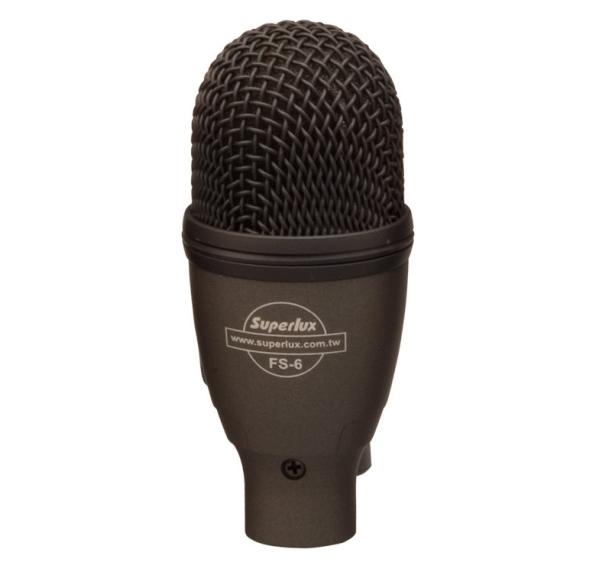 Superlux FS6 小鼓專用收音 動圈式麥克風 超心形指向