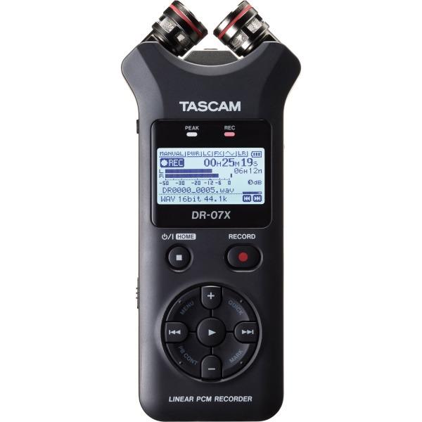 Tascam DR-07x 新版 攜帶型數位錄音機 XY立體聲 dr07x 錄音筆 / 可當USB麥克風/錄音卡用 公司貨 TASCAM,tascam,dr-07,dr07,dr-07x,DR07X,錄音筆,錄音機,usb麥克風