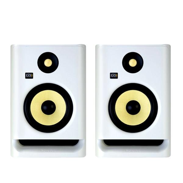 KRK Rokit RP5G4 主動式監聽喇叭 5吋錄音室專用 白色/一對二顆 台灣公司貨 krk,KRK RP5G4,RP5G4,監聽喇叭,小新樂器館,樂器館,小新吉他館,錄音室,krk 監聽喇叭,5吋喇叭