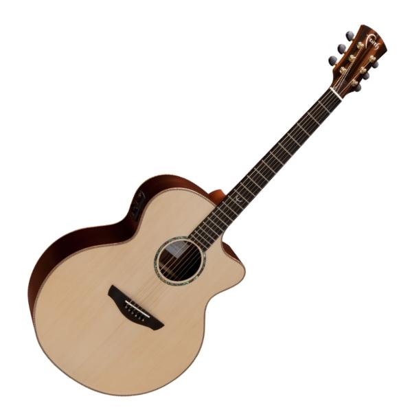 Faith 英國名牌 FJCEHG 41吋 全單板 可插電 民謠吉他 附贈吉他硬盒 CASE 印尼製【電木吉他】