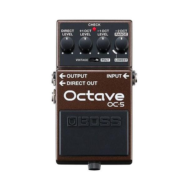 Boss OC-5 八度音效果器【Octave/OC5/電吉他、貝斯效果器/原廠公司貨一年保固】