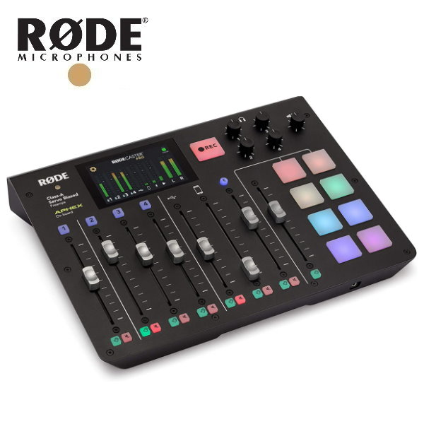 Rode Caster Pro 全球第一台 / 播客 Podcast 混音工作台 廣播 / 直播 台灣公司貨 rode,podcast,rode casterpro,rode podcast pro,播客,混音器,直播,電台,錄音介面