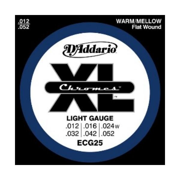 D'Addario ECG25 頂級鉻合金電吉他弦 (12-52)【DAddario吉他弦專賣店/進口弦/ECG-25】