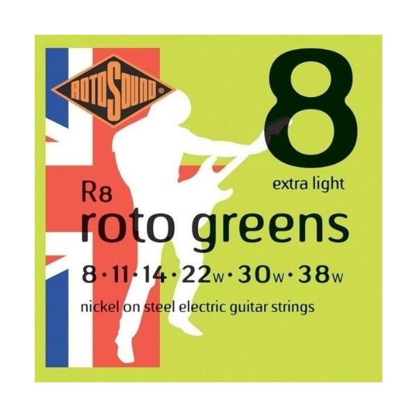 ROTOSOUND R8 電吉他弦 (08-38)【英國製/吉他弦/R-8】