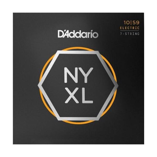 美國 DAddario NYXL-1059 (10-59) 7弦電吉他弦【NYXL1059/吉他弦專賣店/DAddario】