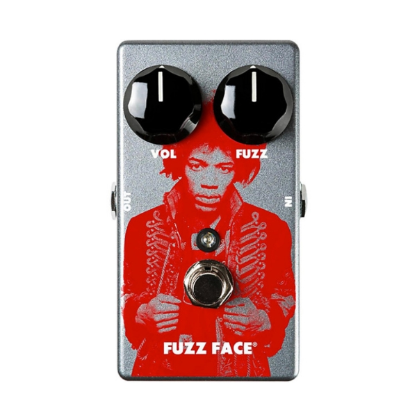 Dunlop JHM5 FUZZ 法滋破音效果器【Jimi Hendrix Fuzz Face Distortion Pedal】