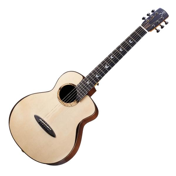 aNueNue XBB 36吋 董運昌-聯名 全單板 民謠吉他 / 旅行吉他 BABY吉他/鳥吉他 附小小收納袋、PICK、貼紙、胸章、琴布、原廠琴盒