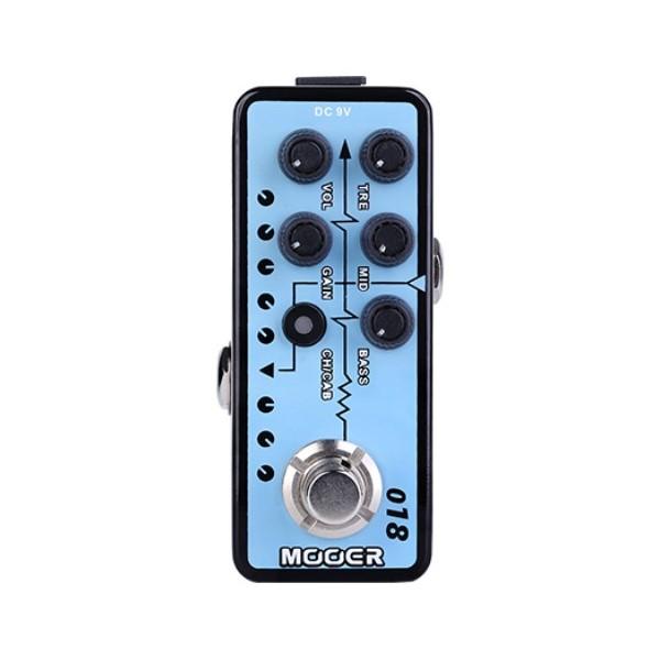 Mooer 018 Custom 100 迷你音箱前級模擬效果器【Micro Preamp】【Custom-100】