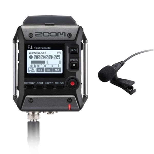 Zoom F1 台灣公司貨 / Zoom F1-LP 領夾麥克風 + 現場錄音座 / 口袋型隨身錄音機 F1LP 公司貨 ZOOM F1,zoom f1,zoom f1lp,zoom f1-lp
