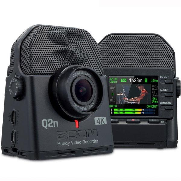 Zoom Q2n 4K 超廣角 隨身攝影機 / XY立體收音 / 4K畫質 直播攝影機 台灣公司貨 Q2n-4K ZOOM,zoom,q2n,q2n4k,q2n-4k,錄音筆,攝影機,相機,直播