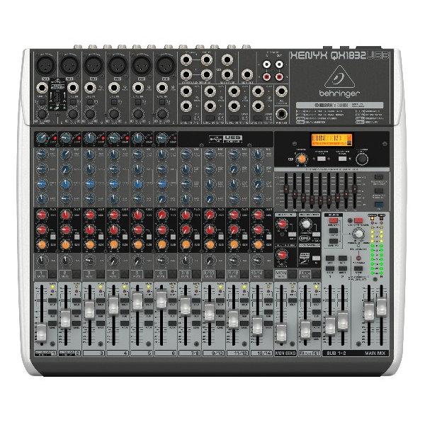 Behringer 耳朵牌 XENYX QX1832USB 18軌混音器【內建效果器/USB介面/原廠公司貨保固】
