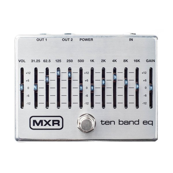 Dunlop M108S EQ效果器【Dunlop M108S Ten Band EQ Pedal】