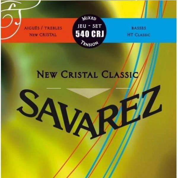 SAVAREZ 540CRJ New Cristal HT Classic 混合張力古典弦【法國製/古典吉他弦/540-CRJ/540 CRJ】