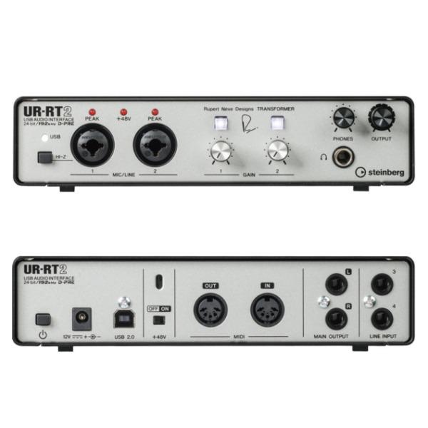 Steinberg Ur-rt2 錄音介面 4進2出 24-bit/192kHz Yamaha 原廠公司貨 一年保固【ur rt2】 Steinberg UR-RT2 錄音介面 4進2出 24-bit/192kHz Yamaha 原廠公司貨 一年保固【UR RT2】