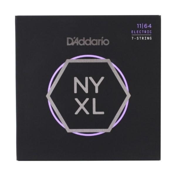 美國 DAddario NYXL-1164 (11-64) 7弦電吉他弦【NYXL1164/吉他弦專賣店/DAddario】