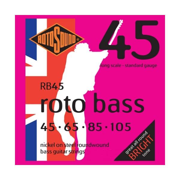 ROTOSOUND RB45 電貝斯弦 (45-105)【英國製/BASS弦/RB-45】