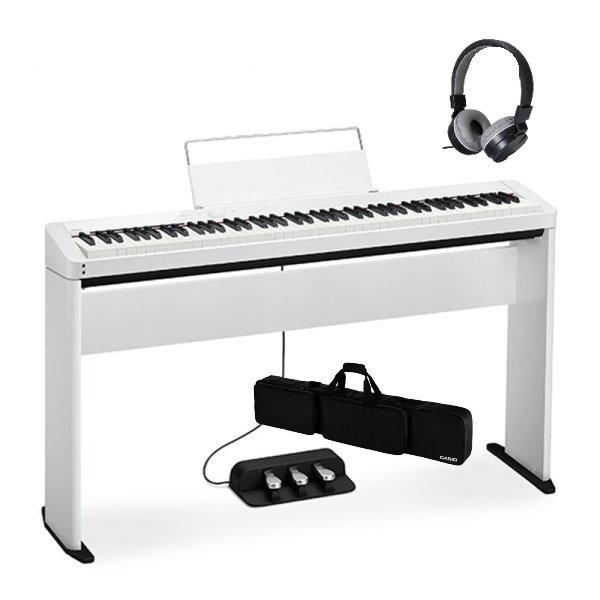 Casio PX-S1000 白色 電鋼琴 含原廠腳架 / 三音踏板 / 琴袋 88鍵 PXS1000 台灣 卡西歐 公司貨 Casio 卡西歐,pxs-1000 琴架,pxs1000 琴架, PX-S1000 88鍵 數位鋼琴/電鋼琴 藍牙音樂功能 附木質琴架(CS-68P)+三音踏板(SP-34)+專用琴袋(SC800P)