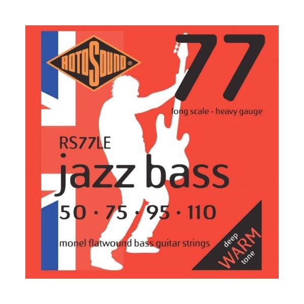 ROTOSOUND RS77LE 電貝斯弦 平滑纏繞 (50-110)【英國製/BASS弦/RS-77-LE】