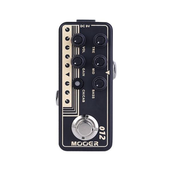 Mooer 012 US Gold 100 迷你音箱前級模擬效果器【Micro Preamp】【Fried-Mien】