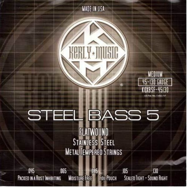 Kerly 冰火弦 KQXBSF-45130 美製 5弦電貝斯弦 Bass弦 (45-130)
