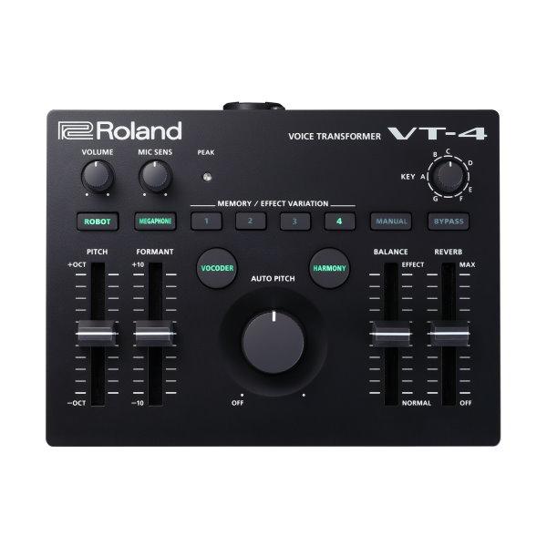 【預購】Roland 樂蘭 VT-4 變聲器/效果器 Voice Transformer【VT4】