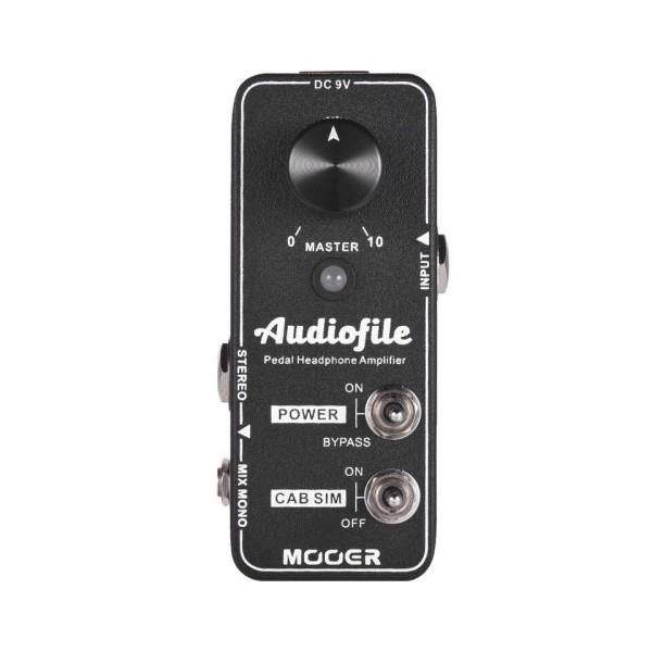 Mooer AudioFile 音箱模擬效果器【AF/直連耳機/方便監聽】
