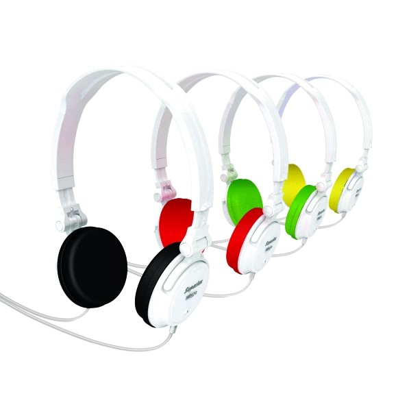 Superlux HD572A 可折疊貼耳式耳機 附收納袋 內附四種顏色耳罩
