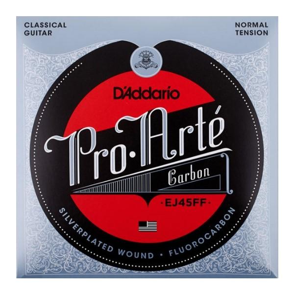 美國 DAddario EJ45FF Carbon 標準張力 古典吉他弦【木吉他弦專賣店】