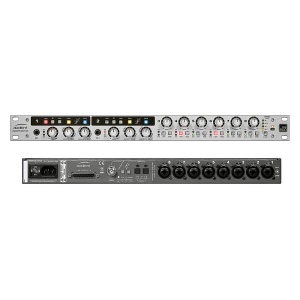 Audient ASP800 8軌 麥克風前級 內建ADC(類比數位轉換器)【1U機櫃大小】