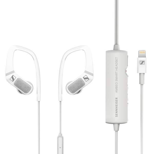 德國 Sennheiser AMBEO SMART HEADSET 錄影專用3D立體錄音 入耳式耳機 iPhone/iPad專用 Lightning接頭 Vlog日常錄製收音專用