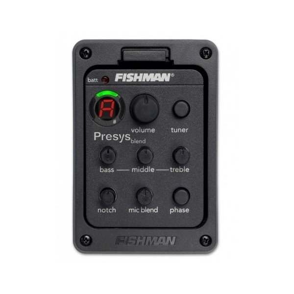 美國品牌 Fishman 拾音棒+隱藏式麥克風 雙拾音系統 PRESYS BLEND 附調音器功能(DIY自行安裝)木吉他升級電木吉他/電民謠首選