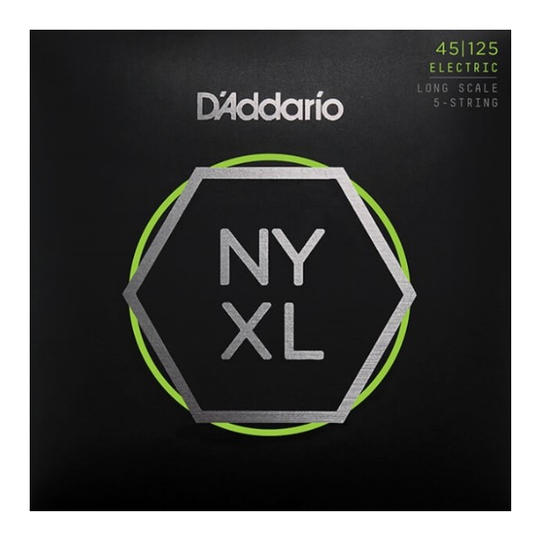 美國 DAddario NYXL45125 5弦電貝斯弦 (45-125)【NYXL-45125/Bass弦專賣店】