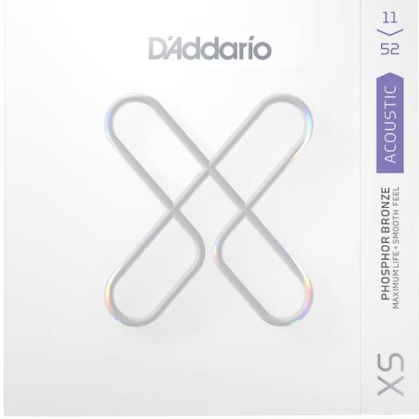 美國 DAddario XSAPB1152 (11-52) 磷青銅 民謠吉他弦【XSAPB-1152/木吉他弦專賣店】