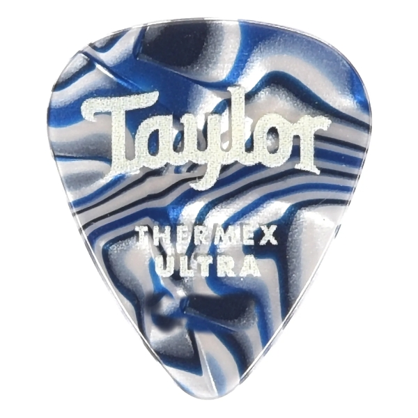 Taylor 超頂級彈片 Thermex Ultra Picks Blue Swirl 進口原廠彈片 Pick【厚度:1.0mm/1.25mm/1.5mm】