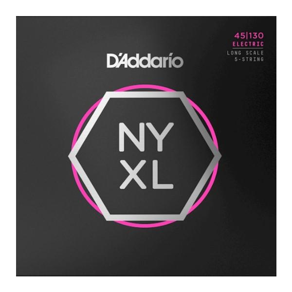美國 DAddario NYXL45130 5弦電貝斯弦 (45-130)【NYXL-45130/Bass弦專賣店】