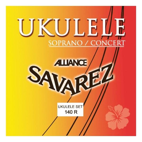 SAVAREZ 140R 21/23吋烏克麗麗弦 Soprano / Concert【Ukulele】