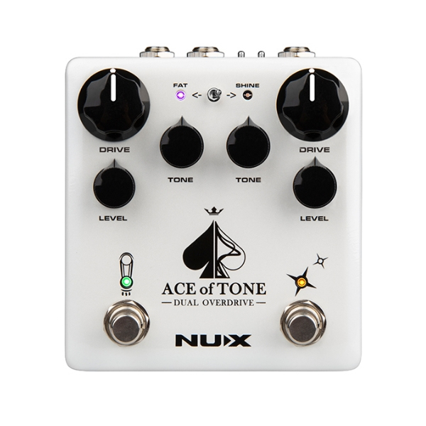 NUX ACE of TONE 破音效果器【DUAL OVERDRIVE】 NUX ACE of TONE 破音效果器