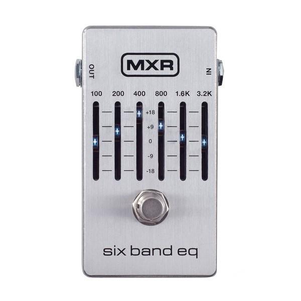 Dunlop M109S 6段EQ效果器【MXR/Six Band EQ】