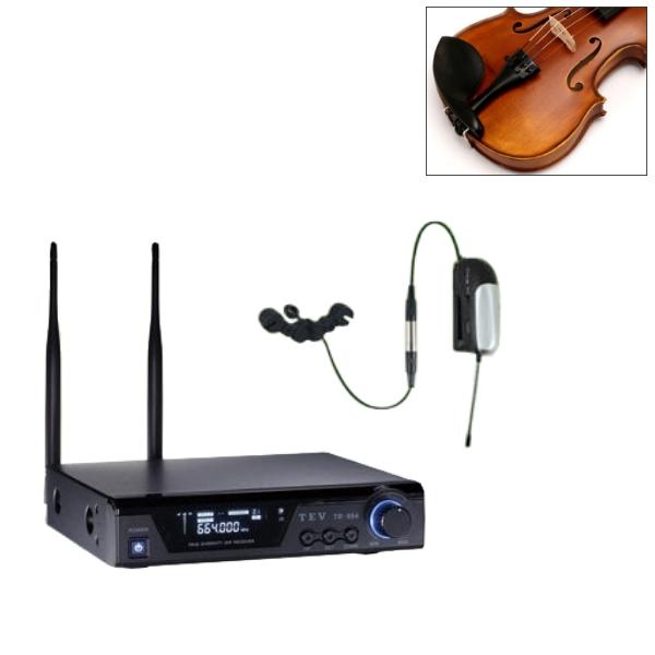 TEV 小提琴專用無線麥克風 套裝組(TV-364 專用無線麥克風 + TR-864 無線接收機)【TR864】