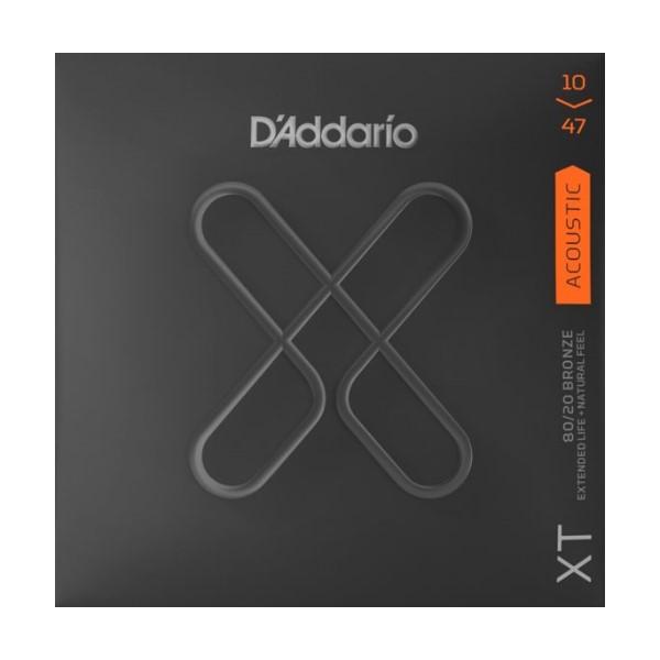 美國 D'Addario XTABR1047 (10-47) 民謠吉他弦 【XTABR-1047/木吉他弦專賣店/DAddario】