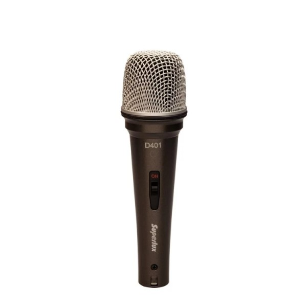 Superlux D401S 全指向動圈式麥克風【適合手握式Podcaster網路電台使用】