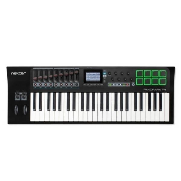 Nektar Panorama T4 主控鍵盤/MIDI鍵盤 49鍵/49key(原廠公司貨/一年保固)附打擊版功能 Nektar Panorama T4 主控鍵盤/MIDI鍵盤 49鍵/49key(原廠公司貨/一年保固)附打擊版功能
