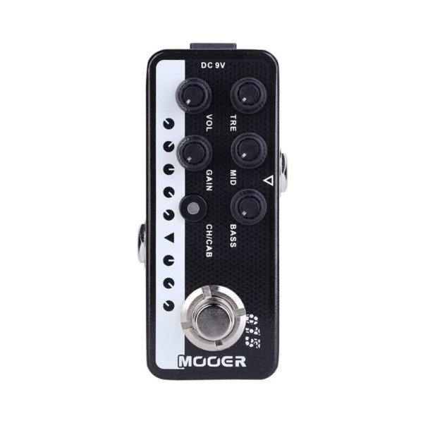 Mooer 015 Brown Sound 迷你音箱前級模擬效果器【Micro Preamp】【Brown-Sound】