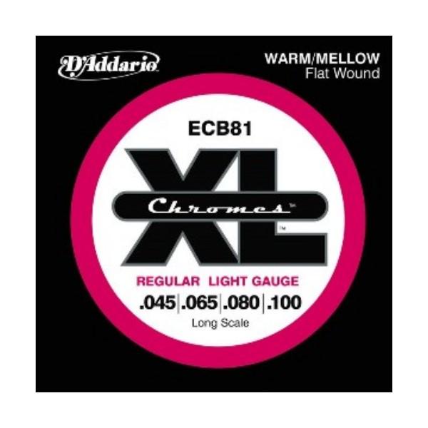 美國D'Addario ECB81 貝斯弦(45~100)【貝斯弦專賣店/進口貝斯弦/ECB-81/DAddario】